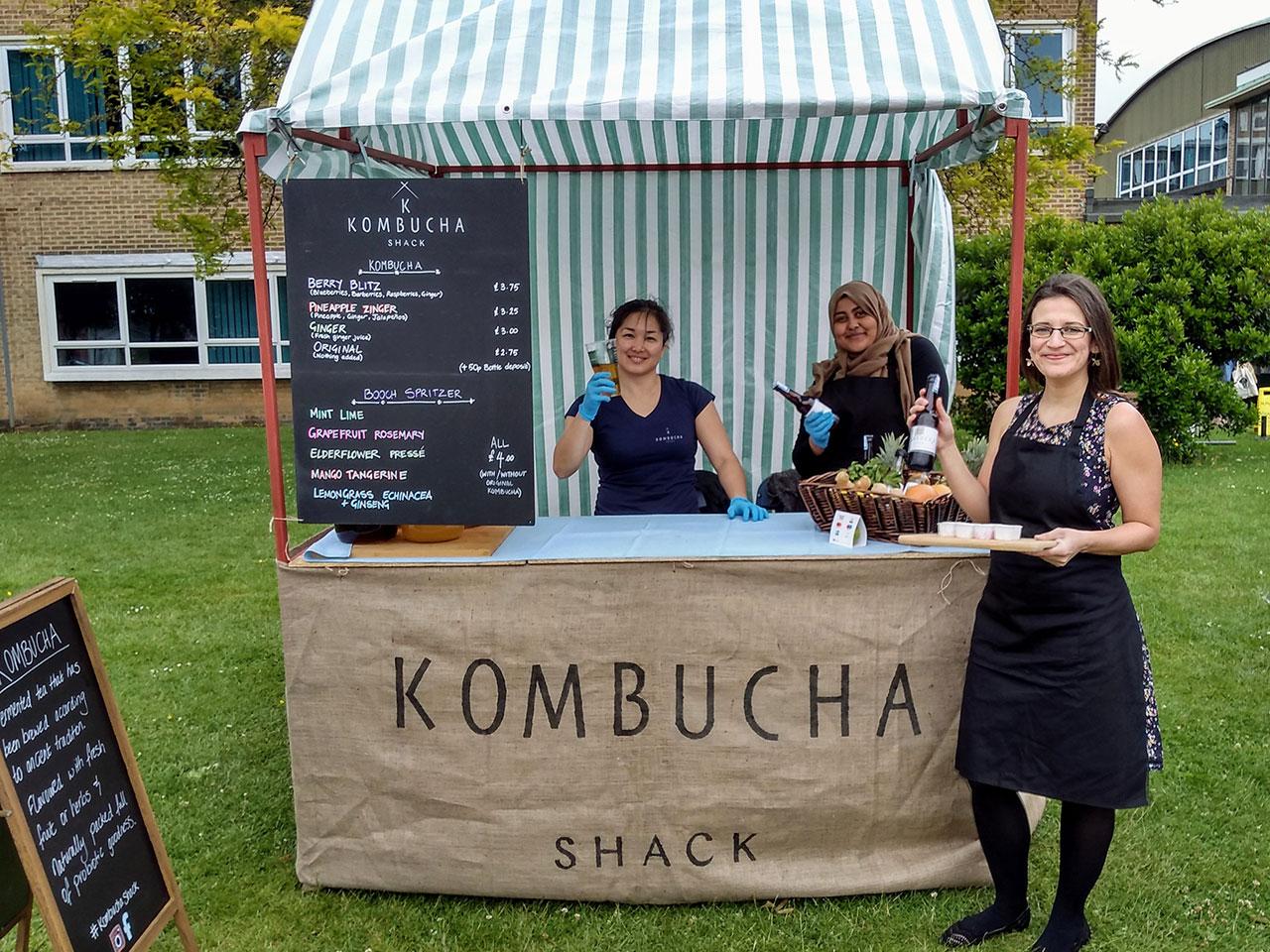 Logo Kombucha Shack